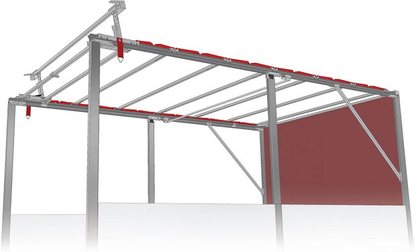 Сдвижные крыши для грузовых авто своими руками